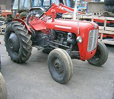 Massey Ferguson Tractor  MF35 35 MF35X 35X A3 152 Operator Instruction MANUAL CD