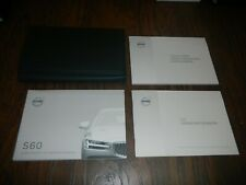 2020 VOLVO S60 OWNER MANUAL SET WITH CASE FREE SHIPPING