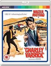 Charley Varrick Blu-ray 1973 Crime Heist Robbery Classic Lindicator UK