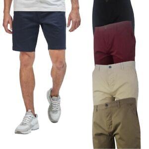 Mens Blu Apparel Chino Shorts Cotton Stretch Summer Cargo Combat S M L XL XXL