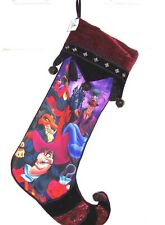 Disney Villains Scar Captain Hook Jafar Christmas Stocking Theme Parks