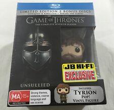 Game of Thrones: Seventh Season Seven 7 - Tyrion Pop Limited Bonus Discs Blu-Ray