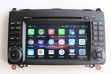 Autoradio Android 7.1 per Mercedes Classe A B Viano Sprinter CRAFTER STEREO DVD