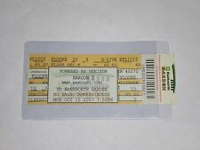 Maroon 5 Concert Ticket Stub-2007-Adam Levine-Moves Like Jagger-Boston,Ma