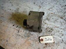 Ih Farmall Super A 100 200 230 Tractor Hydraulic Pump With Gear 326