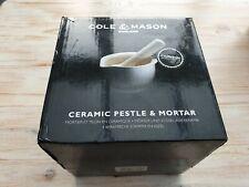 Cole & Mason Ceramic Pestle & Mortar Medium Spice Herb Grinder Mix 14 cm