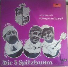 LP--DIE 3 SPITZBUAM--ALLERNEUESTE SCHMÄHTANDELEIEN
