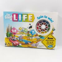 GAME OF LIFE HASBRO GAMING 2013 FAMILY BOARD GAME NEW SEALED SPIN TO WIN