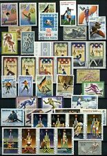 Sports, Olympics Thematics Page Full Of Stamps #W1041