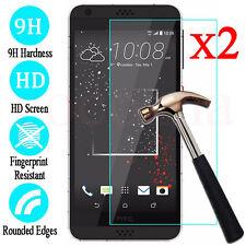 2Pcs 9H Premium Tempered Glass Screen Protector Film Guard For HTC Desire Phones
