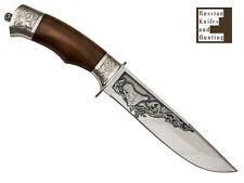 """tourist-1"" Combat Camping Fishing Hunting knife Zlatoust Russian steel 100х13м"