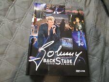 """COFFRET DVD-LIVRE """"JOHNNY HALLYDAY : BACKSTAGE CARNET DE ROUTE"""""""