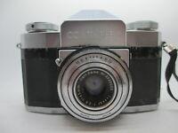Carl Zeiss IKON CONTAFLEX VINTAGE SLR 35mm Film Camera 45mm f/2.8 Tessar Lens