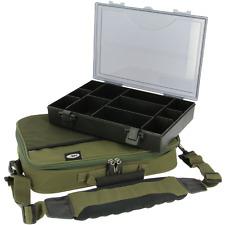 XXL Tackle Box mit Carryall Angeltasche Carp Karpfen