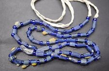 ANCIENT ROMANO - EGYPTIAN COLOURFUL GLASS BEAD NECKLACE 100 - 200 AD