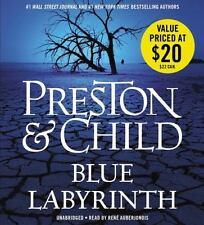 BLUE LABYRINTH unabridged audio book on CD by PRESTON & CHILD