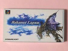 BAHAMUT LAGOON BOX Nintendo Super Famicom Japanese SNES SFC FREE shipping USED