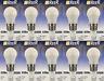 REER 10 PEZZI Lampadina Led SFERA Opale Luce Fredda E27 Grande 830lm 7,5W 6500k