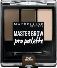MAYBELLINE Master Brow Pro Palette Kit Sculpt Colour Highlight Eyebrow Kit Deep