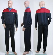 Star Trek Voyager Command Uniform Outfit Costume Red *Custom Made*