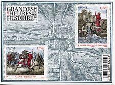 TIMBRE FRANCE NEUF BLOC  FEUILLET N° F4704 ** LES HEURES DE L'HISTOIRE DE FRANCE