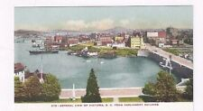 CANADA antique udb post card View of Victoria BC from Parliament Bldg