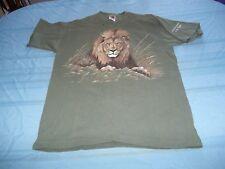 Extinction Is Forever Las Vegas Lion T-Shirt Size L