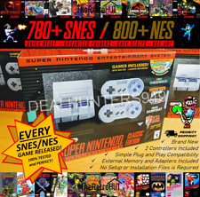 Super Nintendo Entertainment System: Super NES Mini Classic Edition Console SNES
