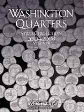 State Quarter Collection Coin Folder Album Vol ll 2004-2008 by H.E. Harris