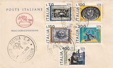 Italia 1976 FDC 1344-48 Esposizione mondiale di  filatelia  MNH