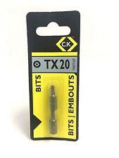 C.K TORX SCREWDRIVER BITS  TX20   T4557T 20T