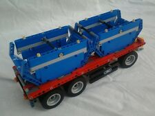 Bauanleitung instruction Anhänger 42024 Eigenbau Unikat Moc Lego Technic