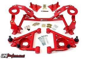 UMI 82-92 Camaro w/ LSX Tubular K-member & A-Arm Kit For Factory Springs
