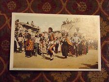 Vintage Postcard Hopi Harvest Dance