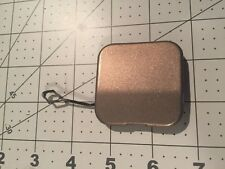 04-09 OEM Cadillac SRX SUV rear bumper tow cap cover plug eye square light brown