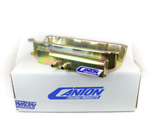 Canton 12-110 Oil Pan For Small Block Chevy Shallow DS Power Pan RH Exits Disco