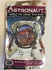4 Packs Astronaut Vanilla Ice Cream Sandwich Space Food NASA