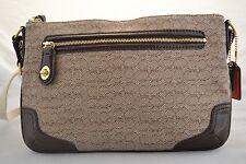 New Coach Poppy Oxford signature east west swing pack bag purse handbag 49776