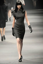 NWOT Most Wanted GORGEOUS 2 DIE 4 CHIC & STYLISH LANVIN black Wool Blend Dress