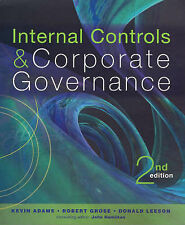 Internal Controls and Corporate Governance by Donald Leeson Paperback Book