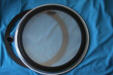 """BLOWOUT! Evans EMAD Heavyweight 22"""" 2-Ply Clear Bass Batter Head, BD22EMADHW"""