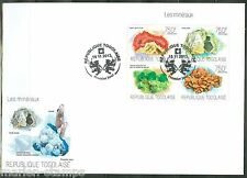 TOGO 2013 MINERALS  SHEET FIRST DAY COVER