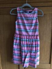 Stunning RALPH LAUREN Girls Striped Party Dress Approx Aged 12-14