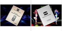 Lot of 2 IGT S - Slot Machine & S PLUS S+ Slot Service & Parts & Owners Manual