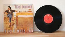 """ORIGINAL Autogramm von Alber Hammond. pers. gesammelt auf VINYL 12"""" """"Where W..."""""""