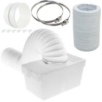 6 Metre Pipe Condenser Box with Extra Long Hose & Clips for LOGIK Tumble Dryer