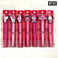 BTS BT21 Official Authentic Goods Gel Pen Music Ver 7SET By LINE FRIENDS