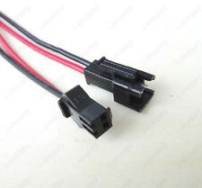 New 10 Pairs 2Pin 10cm Male/Female Connector Wire For LED Light Strip Cable Lamp