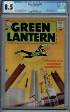 CGC 8.5 GREEN LANTERN #21 1ST APPEARANCE DOCTOR POLARIS 1963 OW/W PAGES