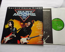 Gary MOORE Rockin' every night(Live in Japan) JAPAN g/f LP+Insert VIRGIN (1983)
